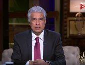 شاهد..وائل الإبراشى: لولا أنفاق السويس ما تمت التنمية فى سيناء
