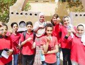 """""""زينة وفانوس ميدالية""""هدية للطلاب بمدارس الوادى الجديد بمناسبة رمضان..صور"""