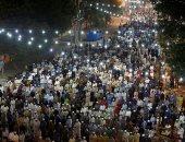 """صور.. العالم الإسلامى يحتفل برمضان بـ""""التراويح"""" والإفطار فى الساحات"""