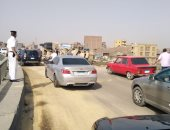 إصابة 4 أشخاص من أسرة واحدة فى حادث انقلاب سيارة على طريق مطروح
