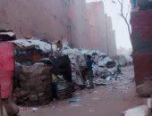 نباشين القمامة يسببون مشكلة للأهالى بالقومية العربية فى إمبابة