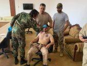الجيش الليبى يقبض على طيار أجنبى بعد إسقاط طائرة لميليشيات طرابلس بالهيرة