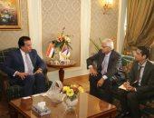 وزير التعليم العالى يستقبل سفير نيبال بالقاهرة