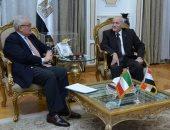 سفير إيطاليا بالقاهرة يؤكد للعصار رغبة بلاده إقامة مشروعات صناعية مع مصر