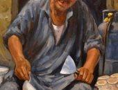 """شاهد.. """"المسحراتى والحلوانى ومدفع رمضان"""" فى عيون الفنانين التشكيليين"""
