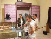 شاهد.. ماذا قال الوفد الفرنسى خلال زيارته لمتحف رشيد.. فيديو