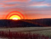 حلقات غريبة حول الشمس بكندا تثير مخاوف بشأن وجود الكائنات الفضائية