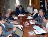 محافظ القليوبية يعقد اجتماعا لمتابعة المشروعات الجارى تنفيذها من قبل الوكالة الألمانية
