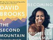 """شاهد.. صيروة ميشيل أوباما يتراجع وكتاب ضد ترامب الأكثر مبيعا فى """"نيويورك تايمز"""""""