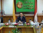 """تعيين """"الريحانى"""" عميدًا لكلية دار علوم بجامعة المنيا"""