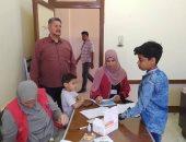 فحص طلاب الإعدادية بجنوب سيناء ضمن حملة 100 مليون صحة