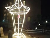حداد يشارك بتصميمات الترحيب برمضان من الهلال والفانوس