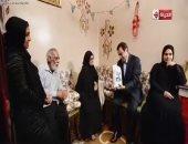 """جورج قرداحي يكرم الفائزة بجائزة برنامج """"اسم من مصر"""".. والأخيرة ترد: دى بركة رمضان"""