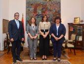 وزراء الهجرة والثقافة والتضامن والآثار يضعون خطة للاحتفال بشهر التراث المصرى بكندا