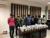 ننشر أول صورة للمتهمين بسرقة 12 مليون و490 ألف جنيه من سيارة بالشيخ زايد