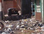 شكوى من تراكم مياه صرف صحى وقمامة بمدينة طهطا بسوهاج