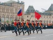 صور.. فى عيد النصر.. استعراض عسكرى فى الساحة الحمراء بروسيا بحضور بوتين