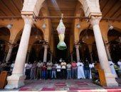 أول صلاة جمعة فى رمضان بمسجد عمرو بن العاص