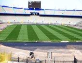 بناء غرفة خاصة لإحماء المنتخبات فى استاد القاهرة استعدادا لأمم افريقيا