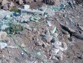 صور ..شكاوى من تراكم مخلفات البناء بقرية بطنطا