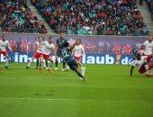 شوط سلبى بين لايبزيج ضد بايرن ميونخ فى الدوري الألماني