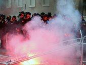 صور..احتجاجات فى ألبانيا للمطالبة باستقالة الحكومة وإجراء انتخابات مبكرة