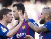 كل أهداف الأحد.. ميسي يتألق بثنائية وريال مدريد يواصل السقوط