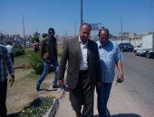 محافظ الإسكندرية يوجه بتطوير الميادين والحدائق