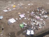 شكوى من انتشار القمامه وسوء حاله الطريق بأوسيم
