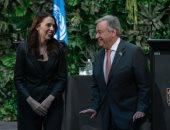 أمين عام الأمم المتحدة يشكر رئيسة وزراء نيوزيلندا لجهودها بمكافحة التطرف