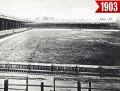 شاهد.. تطور ملعب أنفيلد التاريخي منذ 1903 حتى الآن