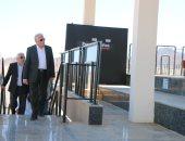 محافظ جنوب سيناء يتفقد مضمار الهجن الدولى استعدادا لموسم سباقات الهجن