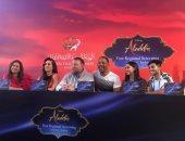 ويل سميث ومينا مسعود ونعومى سكوت يروجون لفيلم Aladdin فى الأردن