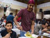 """صور .. مسلمو امريكا فى شهر رمضان """" موائد الإفطار والسحور وصلاة التراويح """""""