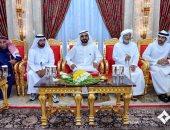 محمد بن راشد وولى عهد دبى يستقبلان مباركات شهر رمضان