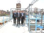 محافظ الجيزة: تشغيل محطة مياه جزيرة الدهب بكامل طاقتها خلال أيام