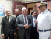 صور.. محافظ جنوب سيناء ومساعد مدير الأمن يفتتحان السجل المدنى بطور سيناء