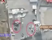 أول فيديو للحظة استهداف مليشيا الحوثى محطتى نفط فى السعودية