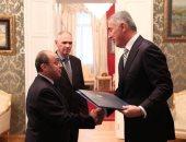 سعيد هندام سفيرا لجمهورية مصر العربية فى الجبل الأسود