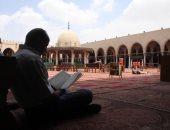 جامع عمرو فى رمضان .. صلاة وصيام وتلاوة قرآن