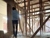 إيقاف أعمال بناء مخالفة وتنظيم عملة لرفع مستوى النظافة بحى الزيتون