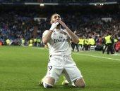 بنزيما يسجل هدف ريال مدريد الأول ضد ليفانتى فى الدقيقة 25.. فيديو