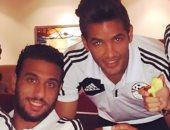 صالح جمعة يهنئ أحمد الشناوى بعيد ميلاده