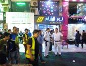 صور.. حملات للقضاء على الإشغالات والمخالفات بمدينة 6 أكتوبر