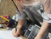 """الطفلة عالية تشارك """"صحافة المواطن"""" برسومات فنية جميلة"""