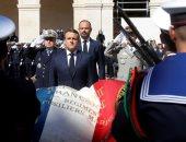 ماكرون يشارك فى جنازة الجنود ضحايا عملية تحرير رهائن بوركينا فاسو