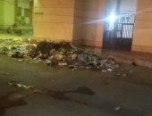شكوى من تراكم القمامة أمام مكتب خدمات الإسكان بمدينة السلام