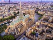 تصميم زجاجى وطاقة شمسية.. شركة تقدم تصورا لكاتدرائية نوتردام بعد الترميم.. صور