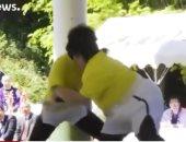 شاهد.. دورة نسائية استثنائية فى رياضة السومو باليابان