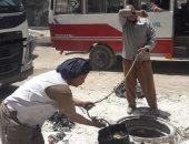 """استجابة لصحافة المواطن.. صرف الدقهلية: """"تطهير وتسليك شارع أمير مظلوم"""""""